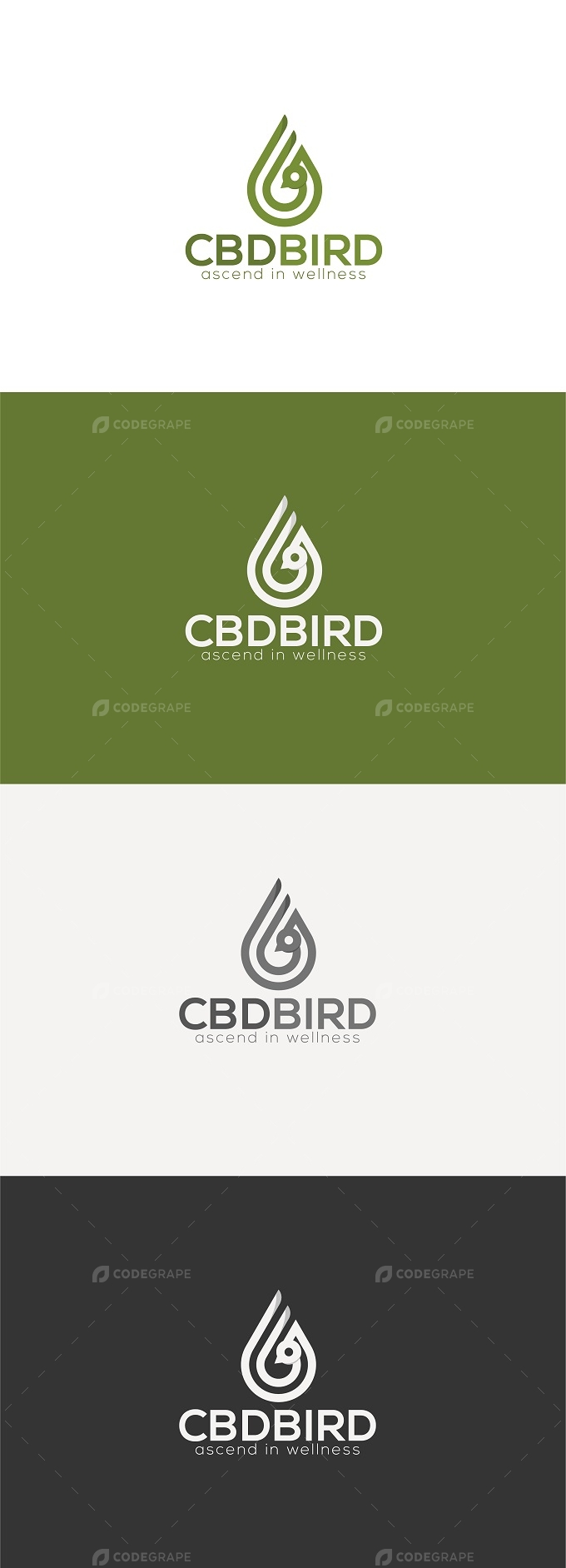 CBD Bird Logo