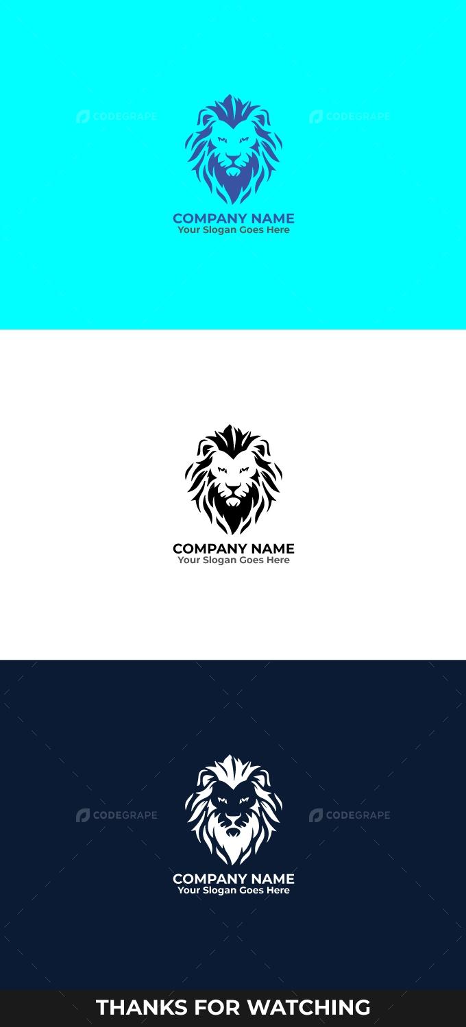 Lion Logo Editable Template