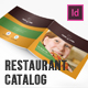 Restaurant Catalog 12 Pages