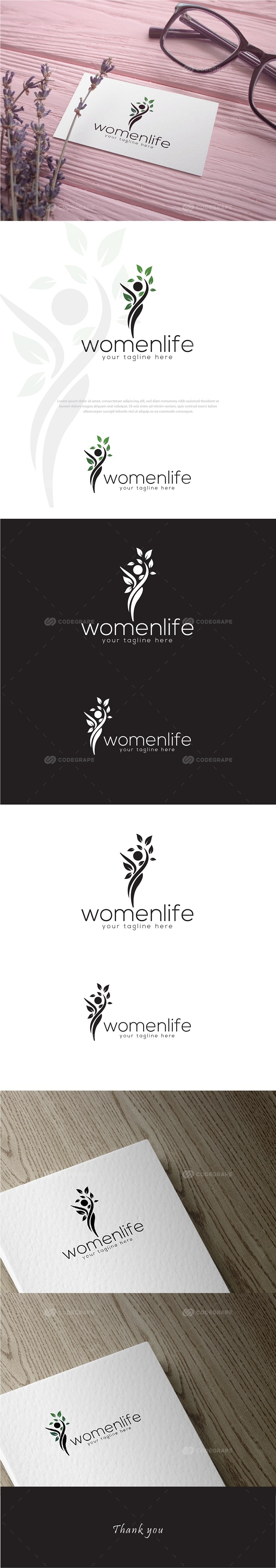 Womenlife Logo Design