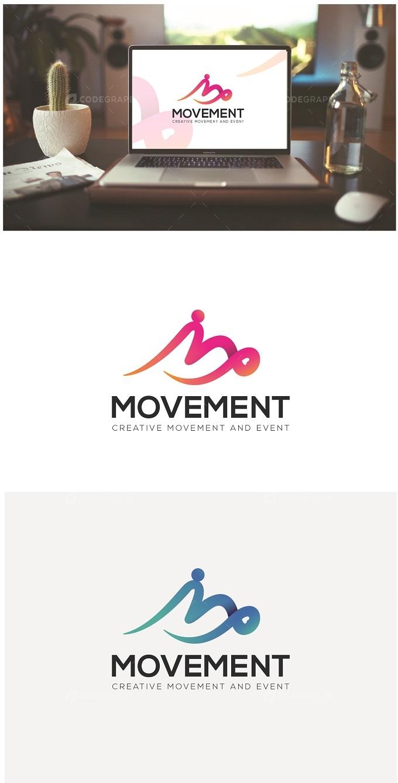 Movement Logo Design