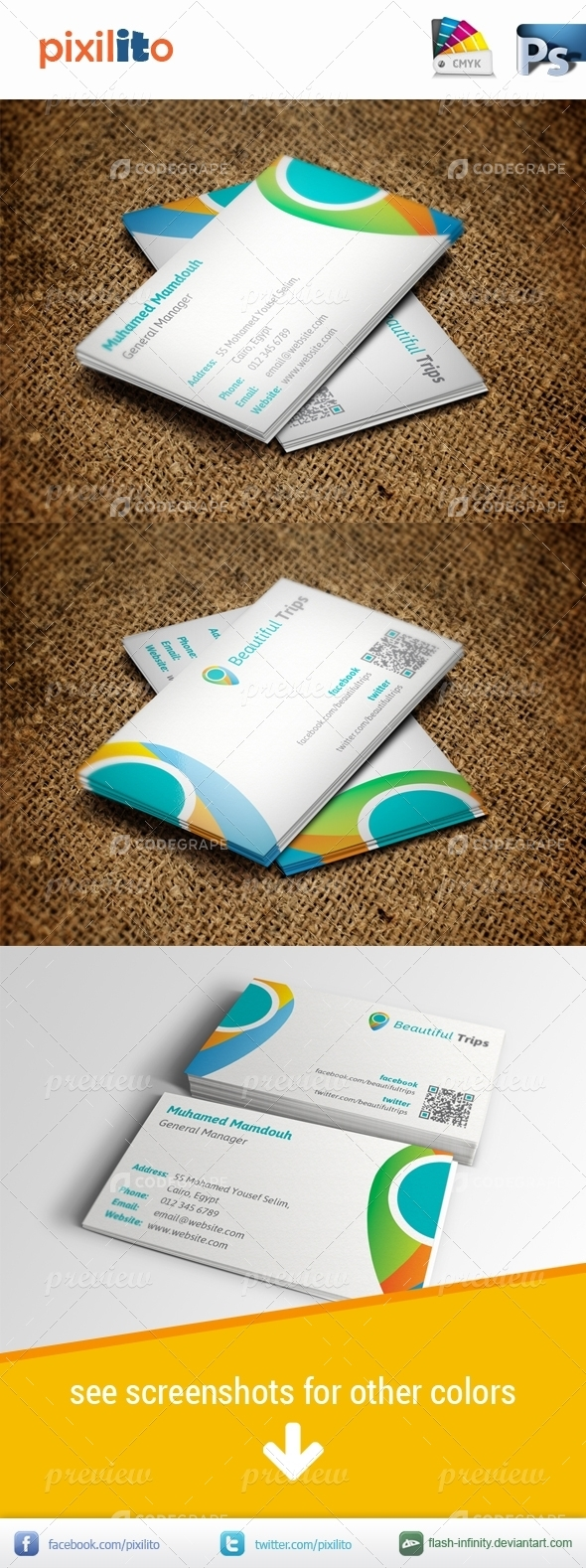 Travelling Business Card