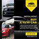 Car Rentals Ad Banners