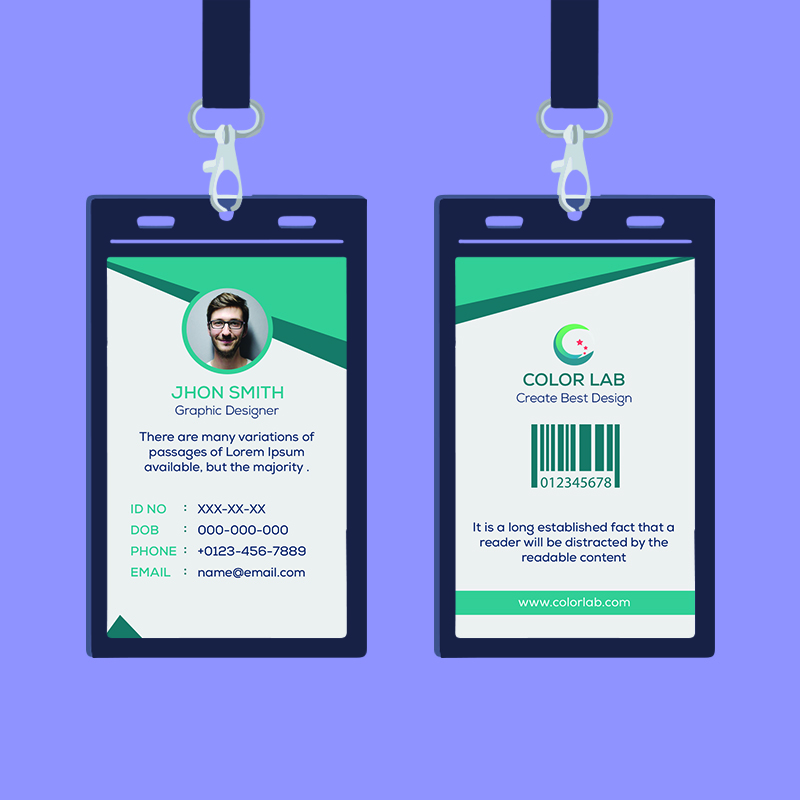 Professional ID Card