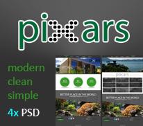 PiXars - Templates PSD