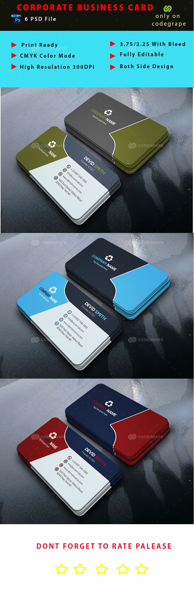 Modern Business Card