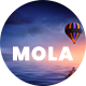 Mola - Agency One Page PSD Template