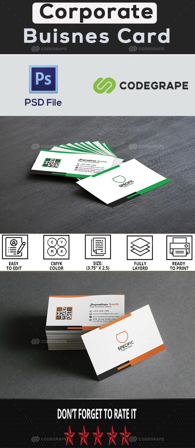 Corporate Buisness Card