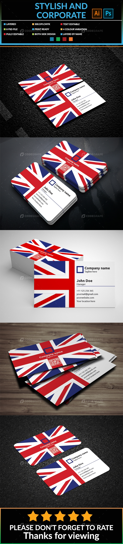 UK Business Card