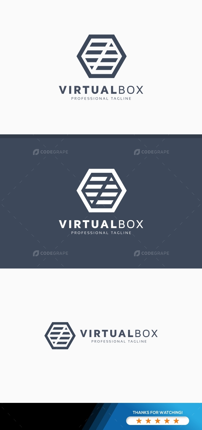 Virtual Box Logo