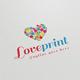 Love Print Logo
