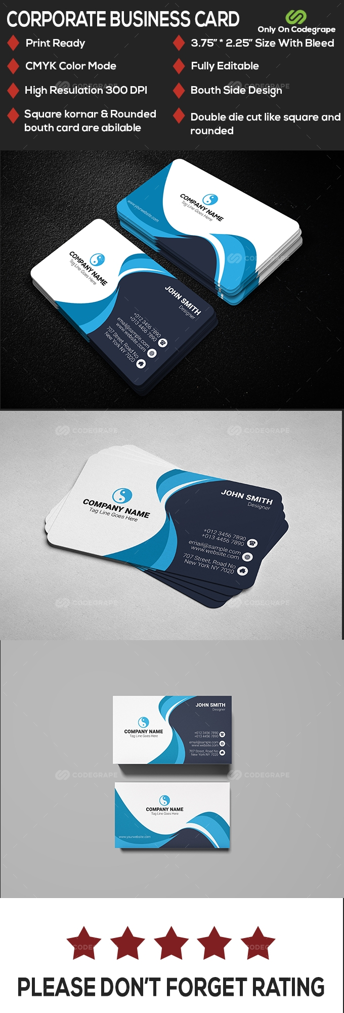 Special Business Card