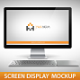 Screen Display Mockup