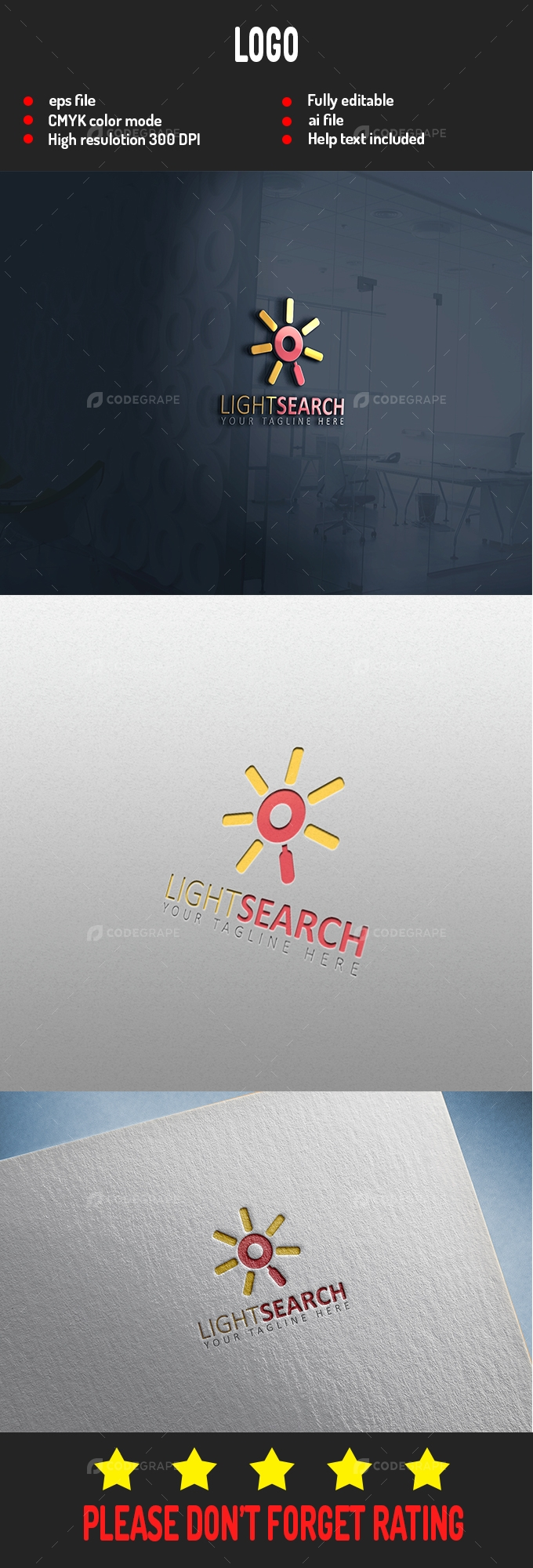 Light Search logo