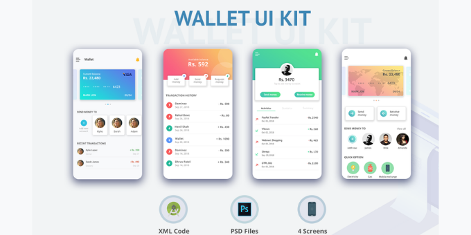 Wallet UI Kit