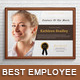 Best Month's Employee Certificate