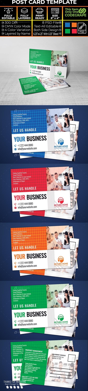 Property Postcard Design Template