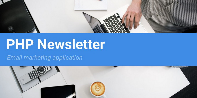 PHP Newsletter - Email Marketing Application