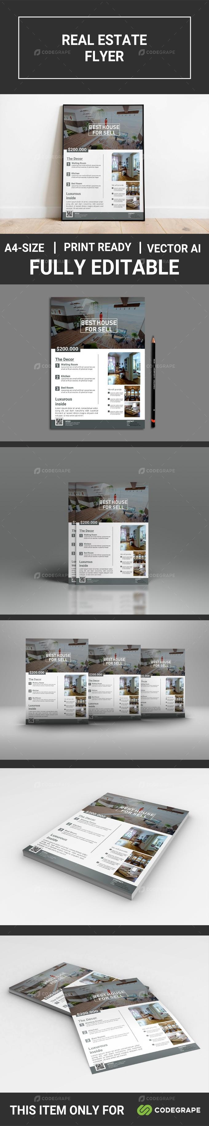 Real Estate Flyer Vol-01