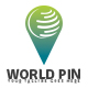 World Pin Logo