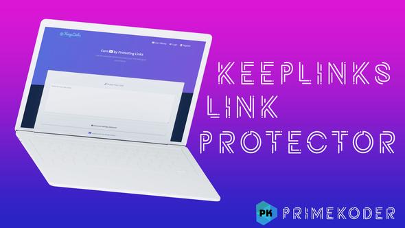 KeepLinks - Link Protector by PrimeKoder