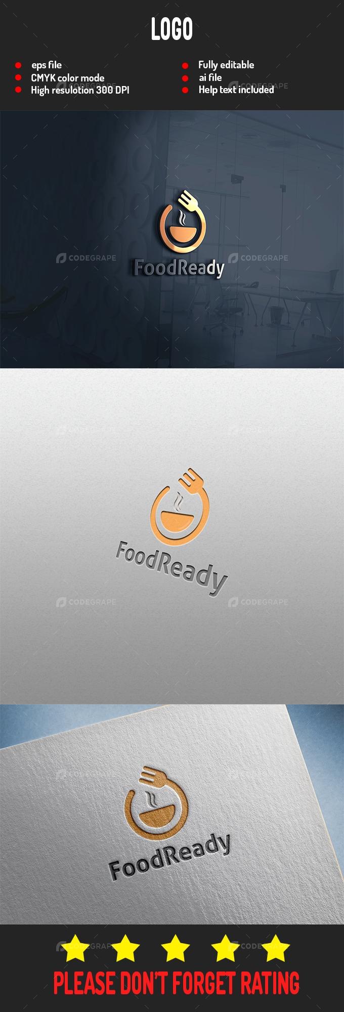 Food Ready Logo