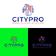 City Building Logo Design Template