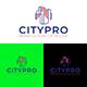 City Building Logo Design Template