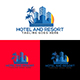 Hotel And Resort Logo Template