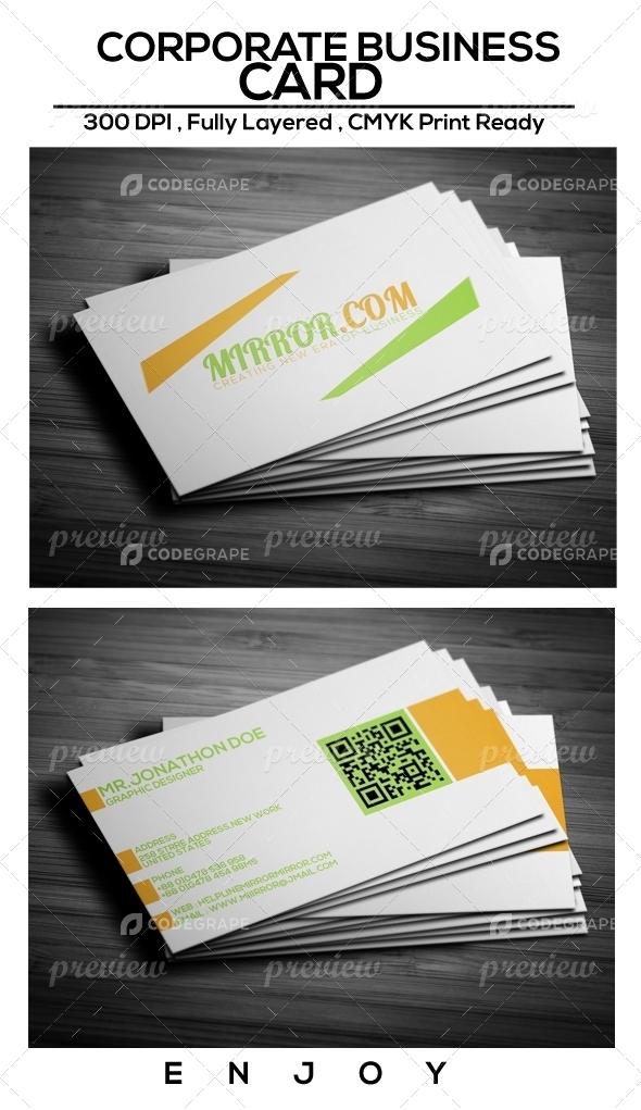 Corporate Business Card Vol.1