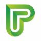 Platinex P Letter Logo