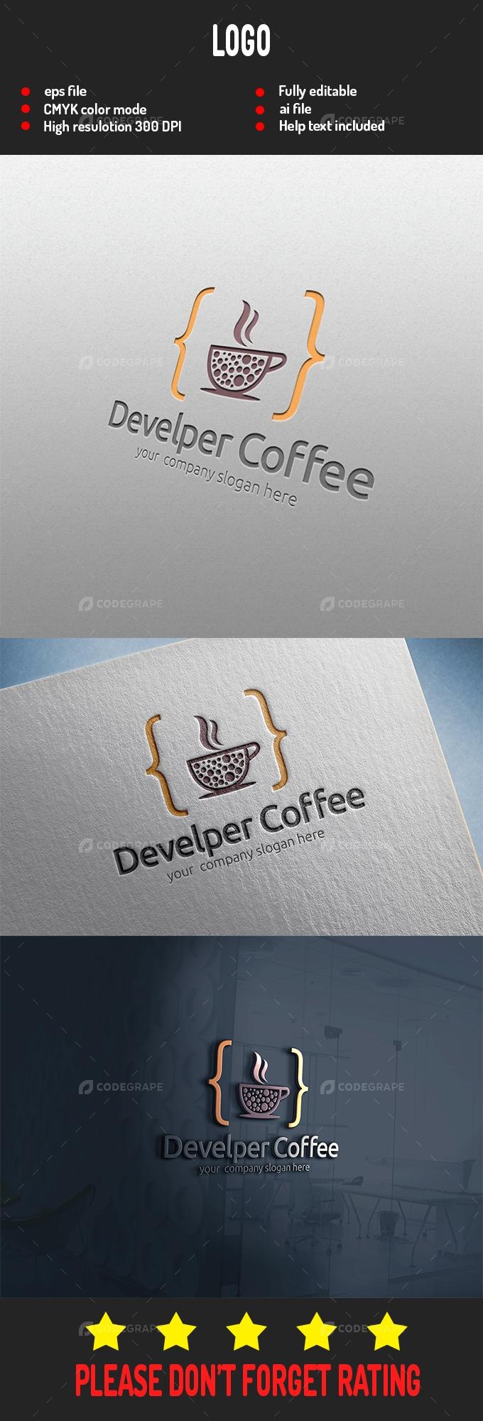 Developer Coffee Logo