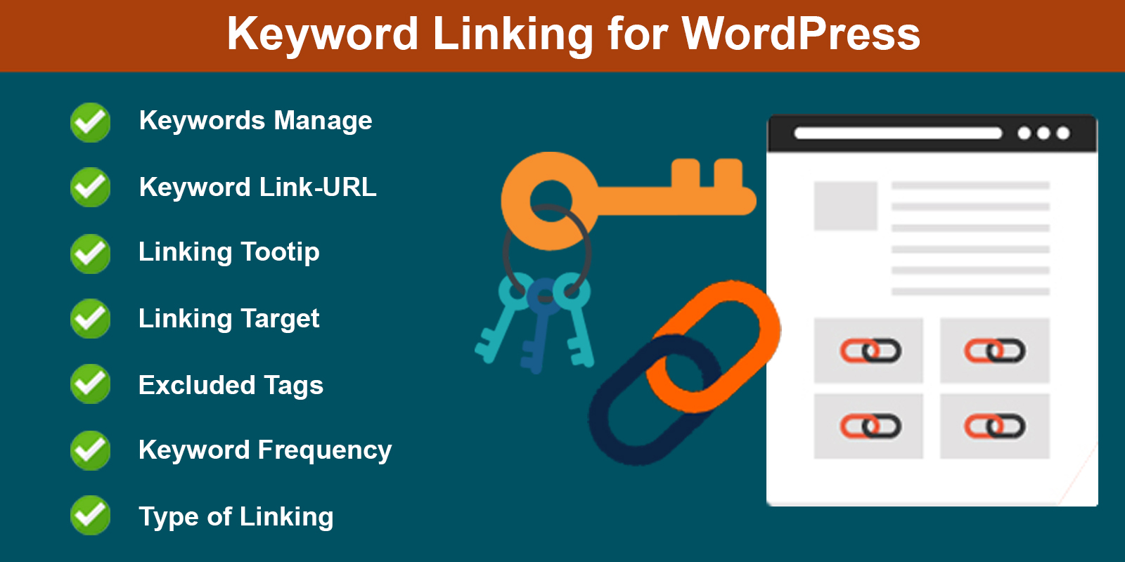 Wordpress Keyword Linking
