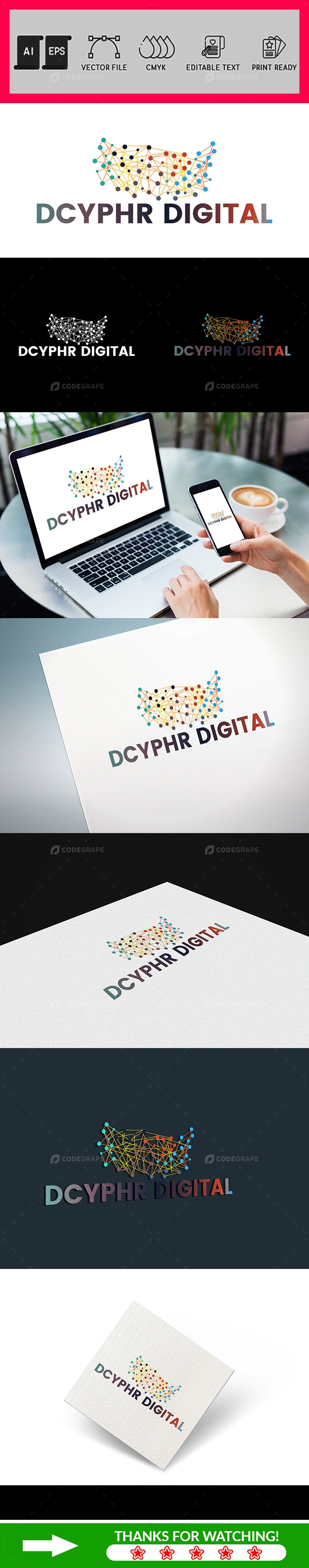 Digital Marketing Corporate Logo