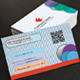 Dotted Creative Business Card Template GL2408