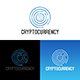 Crypto Currency Logo Design Template