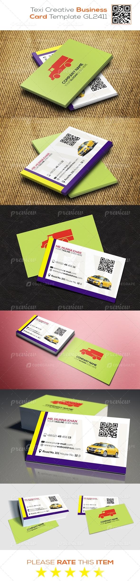 Texi Creative Business Card Template GL2411