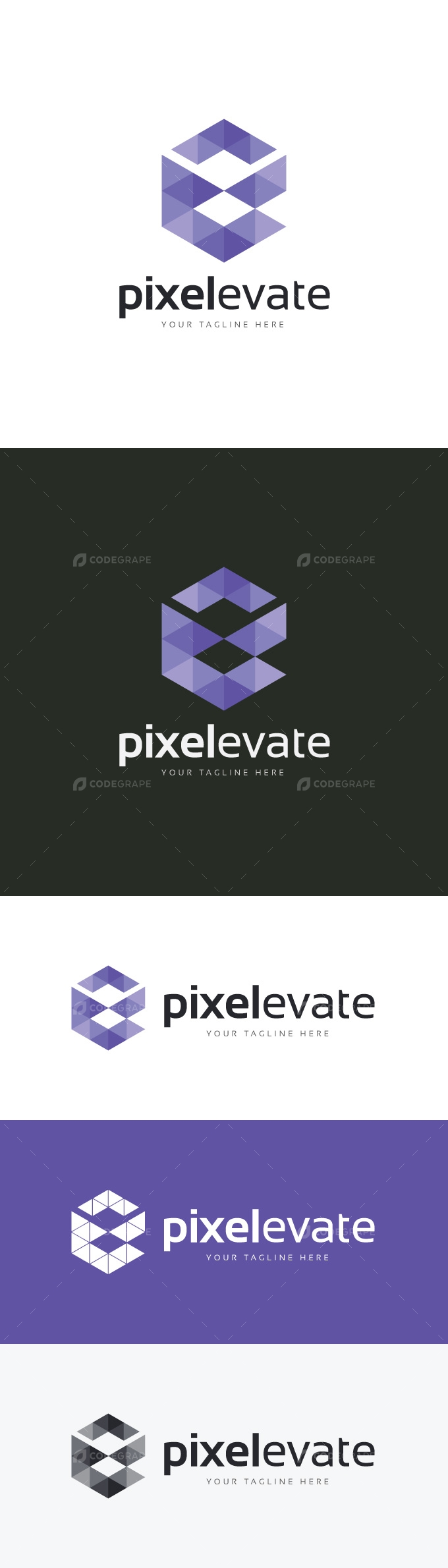 Pixel Elevate Logo