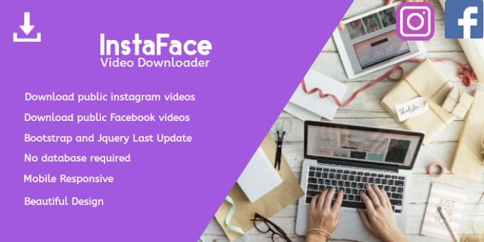 InstaFace Downloader Video Facebook and Instagram