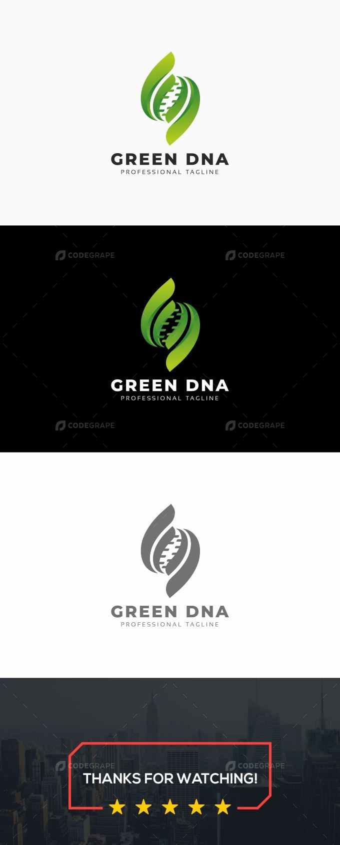 Green DNA Logo