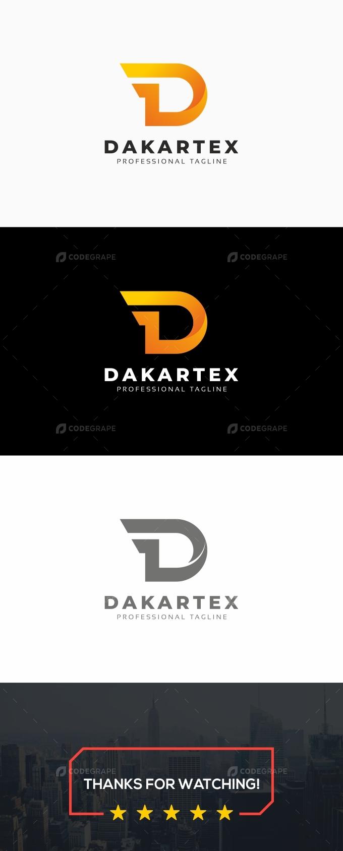 Dakartex-D Letter Logo