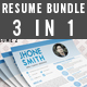 Resume Bundle (3 in 1)