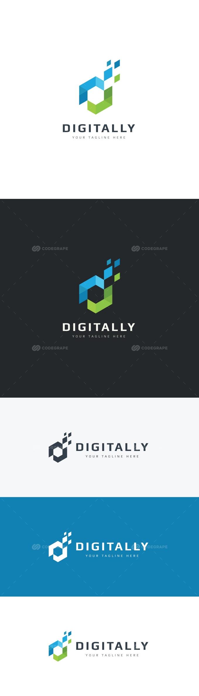Digitally Logo