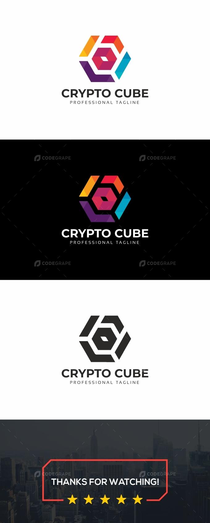 Crypto Cube Logo