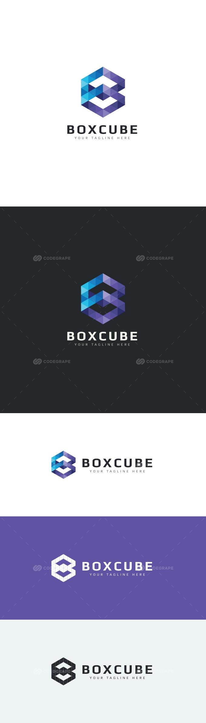 Box Cube Logo