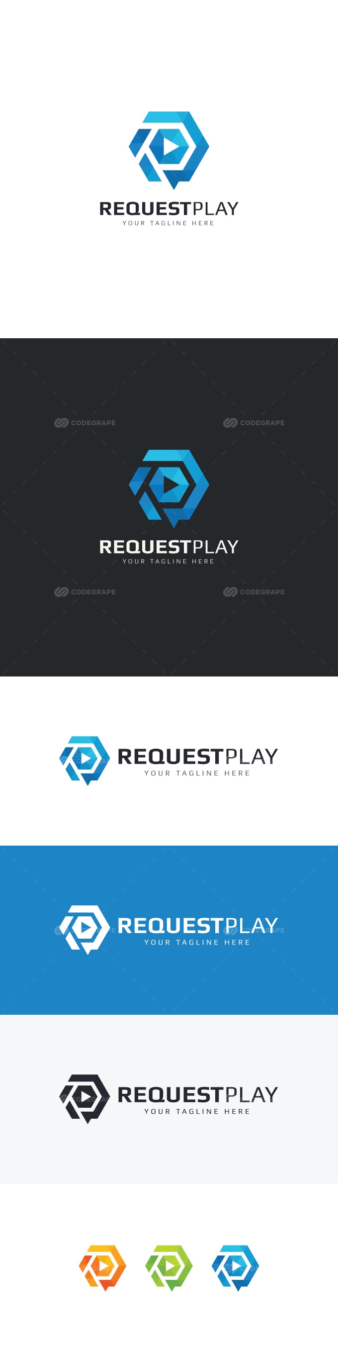 Request Play Logo