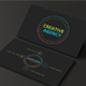 Android Style Business Card Design