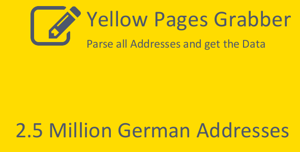 Yellow Pages Grabber