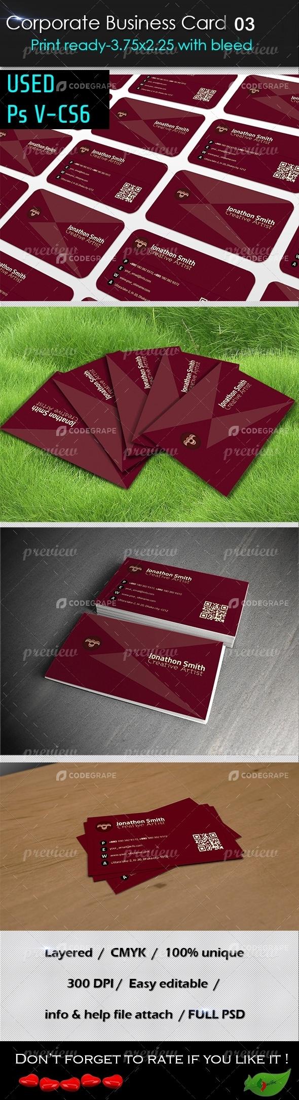 Corporate Business Card 03