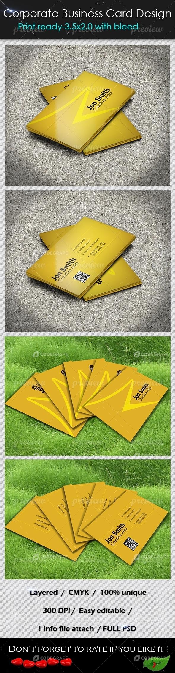 Corporate Business Card 05